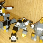 Lego Mixels Shuff, Seismo, Krader and Cragsters MAX, Toy Review