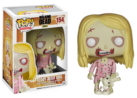 The Walking Dead Pop! funko Series 5 Teddy Bear Girl!