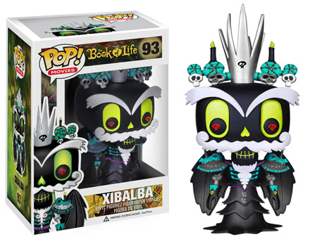 Funko Pop! Movies: The Book of Life Xibalba, vinyl figure, toy