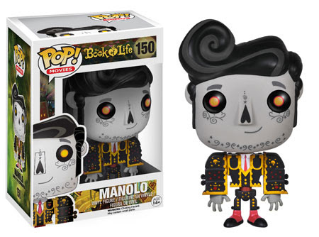 Funko Pop! Movies: The Book of Life Manolo vinyl figure