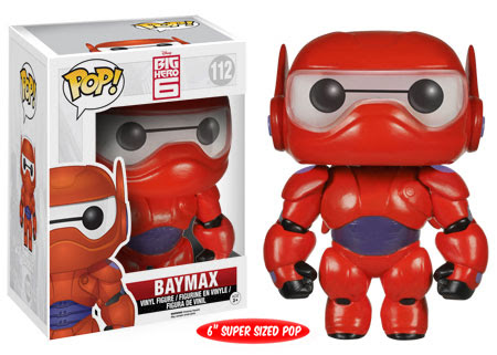 Super Sized Baymax Funko Pop! figure