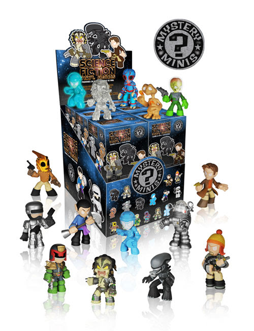 Science Fiction Mystery Minis funko figures