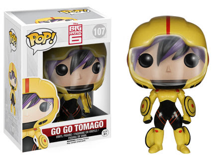 Go Go Tomago Funko Pop Big Hero 6 figure
