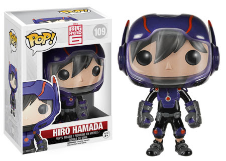Hiro Hamada Pop! Funko figure. Big Hero 6