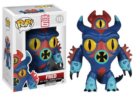 Big Hero 6 Funko Pop Figures Fre