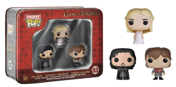 Funko Pocket Pop! Tins Game of Thrones