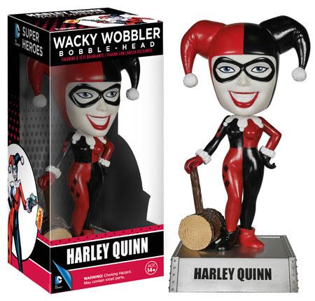 Funko Wacky Wobbler Harley Quinn!