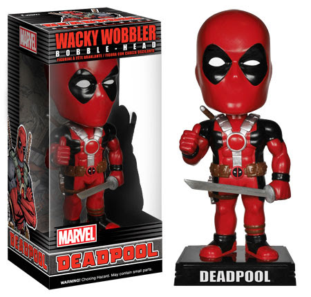 Funko Wacky Wobblers Deadpool.