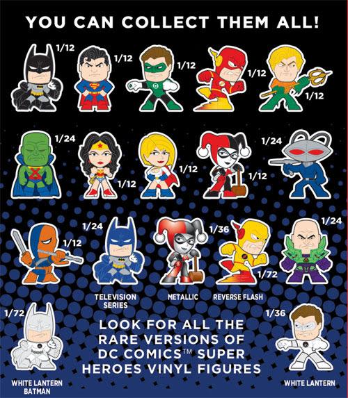 DC Comics Mystery minis
