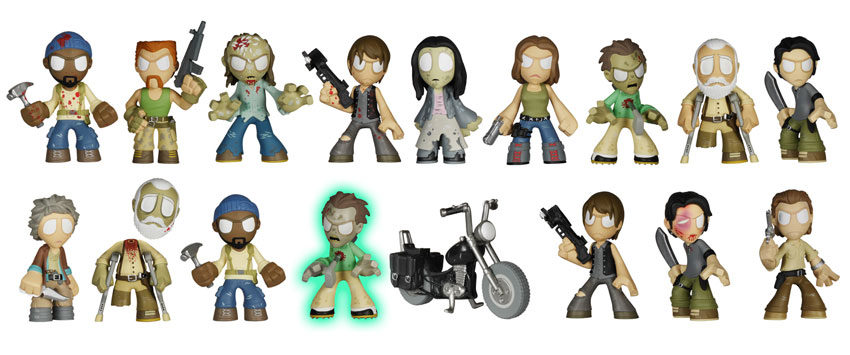 A closer look at all those awesome Mystery Minis.