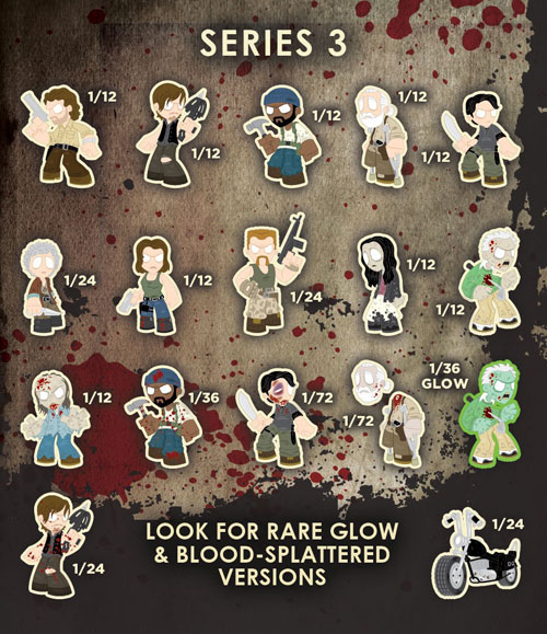 The Walking Dead Mystery Minis Series 3