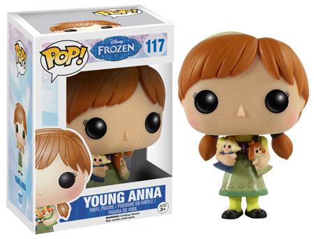 Pop! Disney Frozen Series 2 Young Anna figure