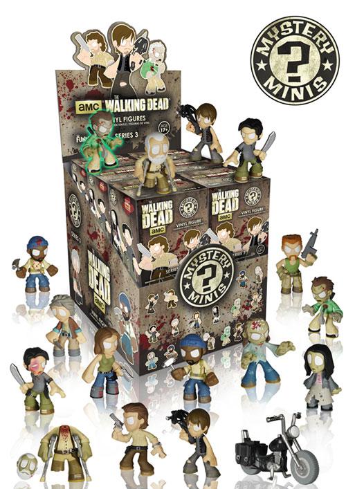 The Walking Dead Mystery Minis Series 3 Funko