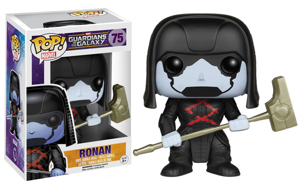 Pop! Marvel Guardians of the Galaxy Series 2 Ronan figure.