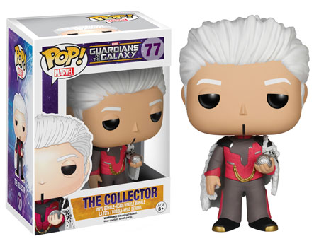 Pop! Marvel Guardians of the Galaxy Series 2 The Collector figure.