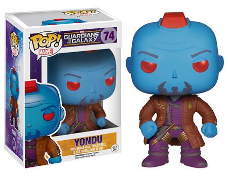 Pop! Marvel Guardians of the Galaxy Series 2 Yondu figure.