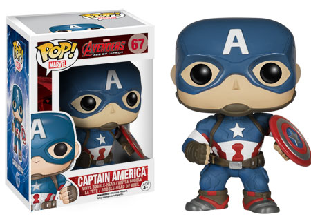 Pop Marvel Captain America figure.