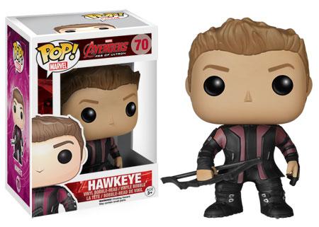 Pop Marvel Avengers Age of Ultron Hawkeye figure. Funko.
