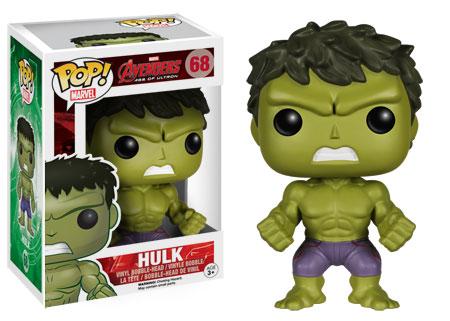 Pop Marvel Avengers Age of Ultron Hulk figure. Funko.