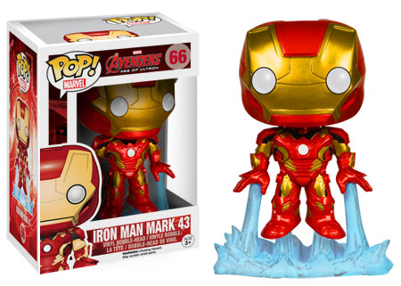 Iron Man Mark 43 figure.