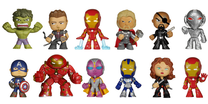 Avengers Age of Ultron Mystery Minis Funko