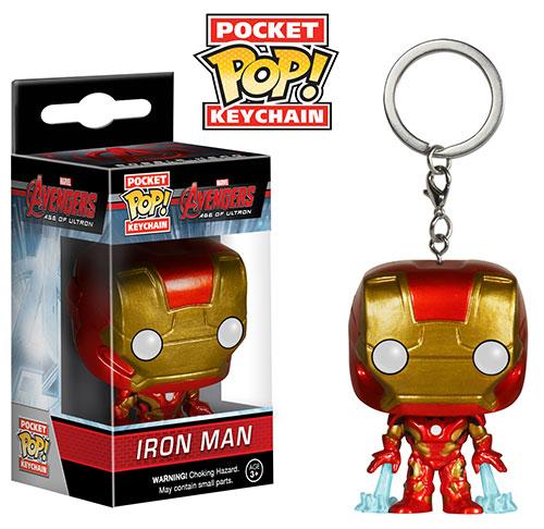 Pocket Pop Iron Man keychain