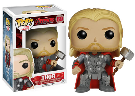 Pop Marvel Avengers Age of Ultron Thor figure. Funko.