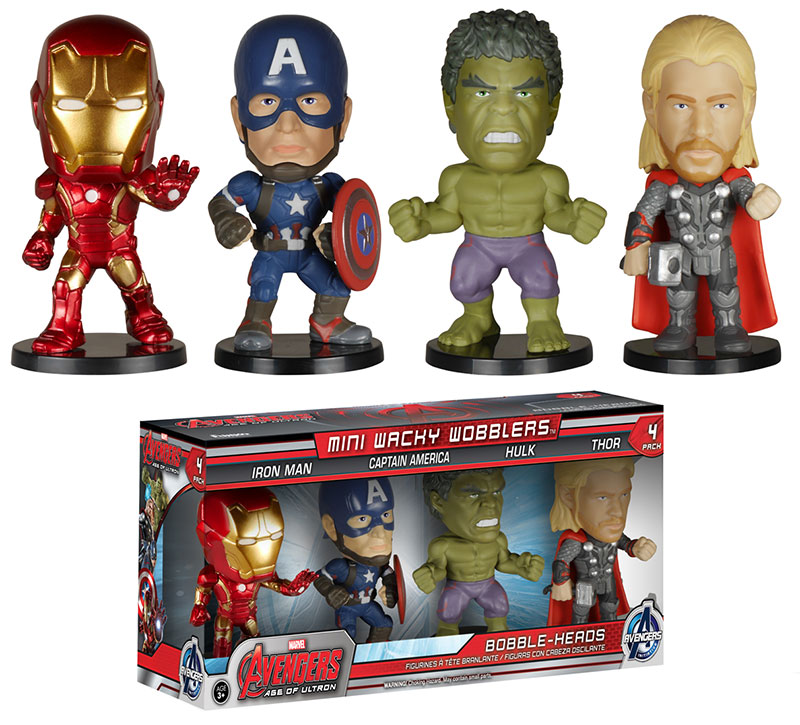 Avengers: Age of Ultron Mini Wacky Wobblers