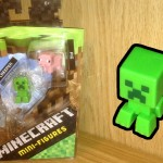 Minecraft Skeleton, Creeper, Pig, Grass Series 1 Toy Review
