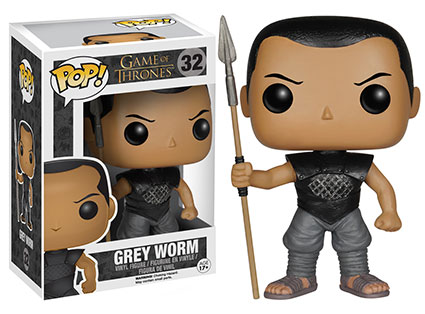Game of Thrones Series 5 Pop! Grey Worm figure.