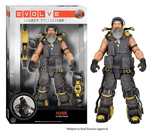 Evolve: The Legacy Collection Markov action figure.