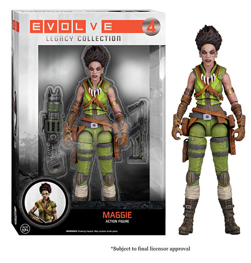 Evolve: The Legacy Collection Maggie action figure.