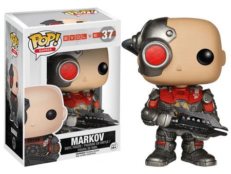 Evolve Pop! Funko Markov figure.