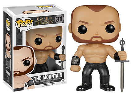 Game of Thrones Series 5 Pop! the mountain. vinyl figure.