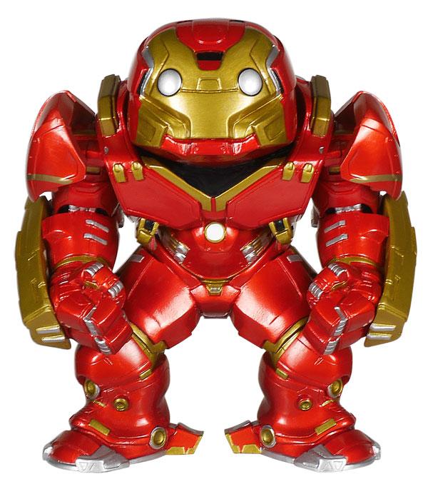 Exclusive Iron Man Hulkbuster Pop! vinyl figure.