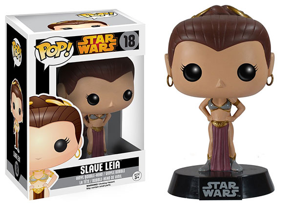 Funko Re-releases Star Wars Vault Pop!: Slave Leia