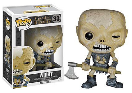Game of Thrones Series 5 Pop! Wight figure.