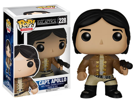 Captain Apollo Battlestar Galactica Funko Pop!