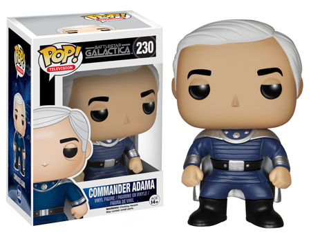 Commander Adama Battlestar Galactica Funko Pop!