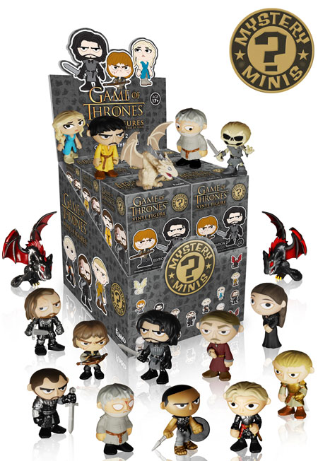 game of thrones mystery minis series 2