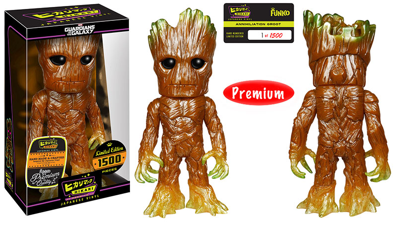 Hikari Premium Sofubi Figure Gaming Exclusive Annihilation Groot