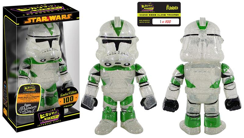 Glitter 442nd Siege Clone Trooper Hikari Premium Sofubi Figure