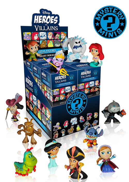 Disney Heroes vs. Villains Mystery Minis by Funko.