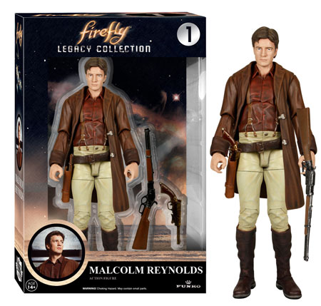 Firefly Legacy Collection figure Malcolm Reynolds Funko