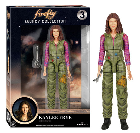 Funko Firefly Legacy Collection figure Kaylee Frye.