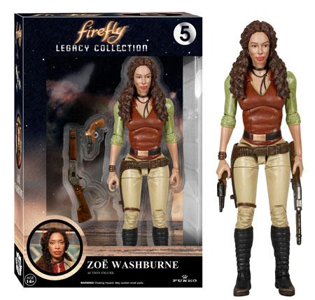 Funko Firefly Legacy Collection figure Zoe Washburne.