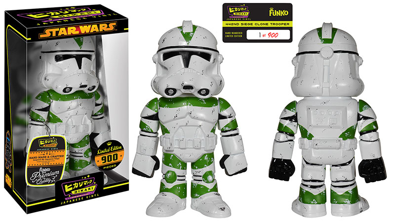 White 442nd Siege Clone Trooper Hikari Premium Sofubi Figure