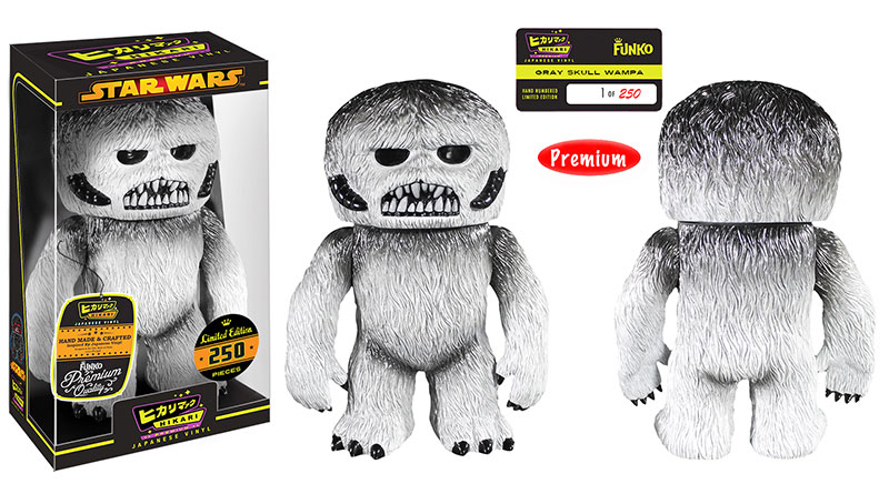 Entertainment Earth Gray Skull Wampa Hikari Premium Sofubi Figure