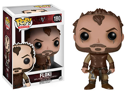 Vikings Floki Pop! vinyl figure.
