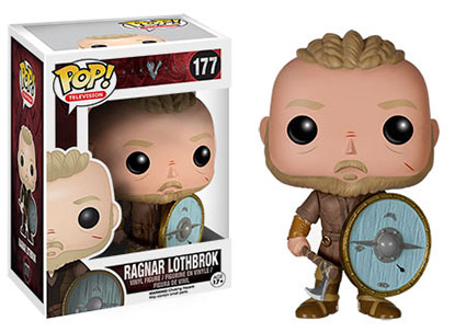 Vikings Ragnar Lothbrok Pop! vinyl figure.